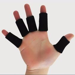10X Adult Finger Brace Splint Sleeves Thumb Support Protecto