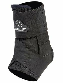 McDavid 195T Lightweight Ankle Brace w/ Straps Black Injury