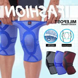 1Pair Support Knee Brace Compression Sleeve for Meniscus Tea