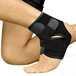 2 Pcs Sports Pain Relief Compression Ankle Brace Support Sta