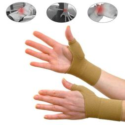 2 Pcs Thumb Support Compression Brace Arthritis Sleeve Joint