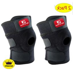 2 Pcs Joint Support Brace Knee Pads Booster Lift Squat Sport