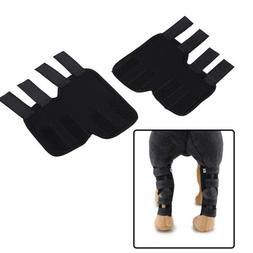 2pcs Pet Knee Pads Dog Support Brace for Hind Leg Hock Joint