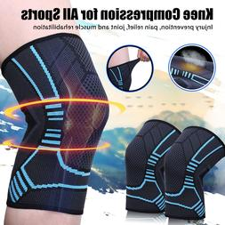 2x knee sleeve compression brace support