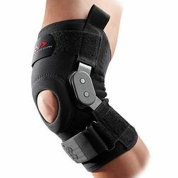 McDavid 429 Black Neoprene Hinged Knee Stabilizer Support Br