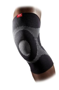 McDavid 5125 4-Way Stretch Elastic Knee Sleeve with Gel Butt