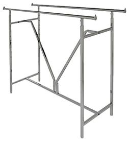 Econoco - Adjustable Heavy Duty Double Bar, Retail Clothing