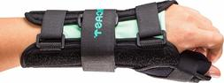 Aircast A2 Wrist Support Brace with Thumb Spica Right Hand M