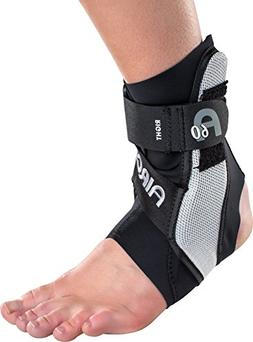 Aircast A60 Ankle Support Brace, Left Foot, Black, Medium