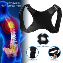 Adjustable Back Posture Corrector Shoulder Straight Support