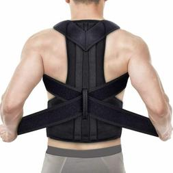 Adjustable Back Posture Shoulder Corrector Support Brace Bel