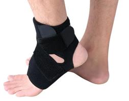 Adjustable Breathable Neoprene Ankle Support Brace, One Size
