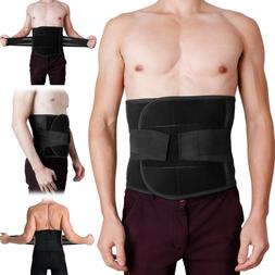 Adjustable Double Pull Lumbar Brace Waist Trimmer Trainer Be