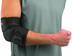 Mueller Adjustable Elbow Support, Black, One Size Fits Most