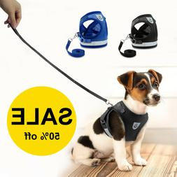 With Pull Dog Pet Harness Adjustable Control Vest Mesh Dogs