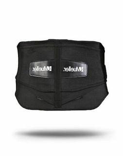 Mueller Sports Adjustable Lumbar Support Back Brace Plus Siz