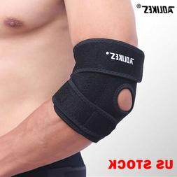 Elbow Brace Support Wrap Compression Arm Pads Sleeve Tendon