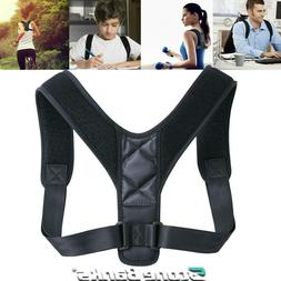 Adjustable Posture Corrector Back Shoulder Support Brace Bel