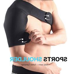Adjustable Shoulder Support Brace Strap Joint Sport Gym Comp