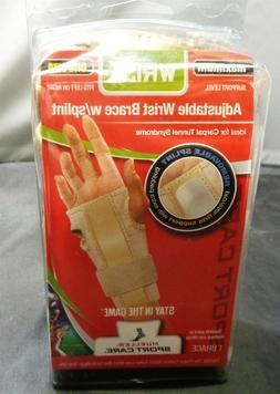 Mueller Adjustable Wrist Brace with Splint - Beige