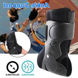 Ankle Brace Hinged Foot Support Guard All Sports Protector B