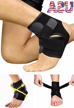 Ankle Brace Support Stabilizer Guard Sprain Tendonitis Achil