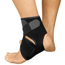 Ankle Brace for Women and Men by RiptGear - Adjustable Ankle