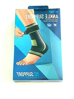 Ankle Sports Support Brace Compression Foot Pain Relief NEW