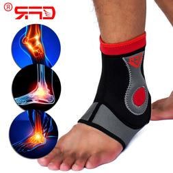 ankle support brace compression sleeve foot pain