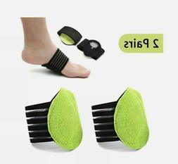 Arch Support Brace Compression Cushioned Support Sleeves, Pl