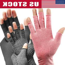 Arthritis Compression Joint Finger Pain Relief Gloves Hand W