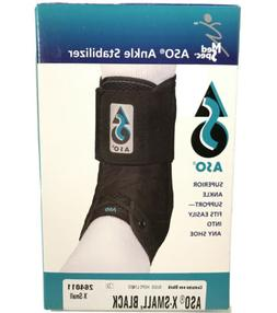 Med Spec ASO Ankle Stabilizer Support Brace Lace Up Black X-