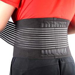 Cotill Back Brace Lumbar Lower Belt Brace and 8 Stable Splin