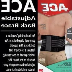 ACE Adjustable Back Brace, One Size