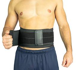 Vive Lower Back Brace - Support for Chronic Pain, Sciatica,
