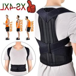 Back Posture Corrector Support Shoulder Therapy Brace Pain R