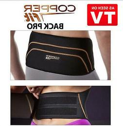 Copper Fit Back Pro Back Brace Compression Lower Lumbar Supp