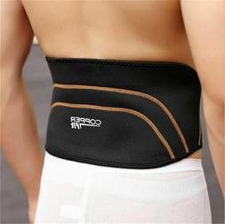 Copper Back Pro Back Brace Compression Lower Support Fitness