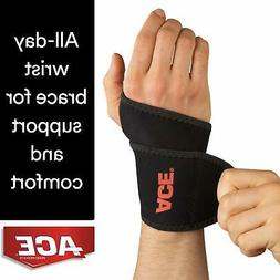 ACE Brand Wrist Brace Support Over-the-Thumb Adjustable Wrap