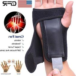 Breathable Wrist Hand Brace Support Splint Carpal Tunnel Gym