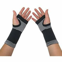 Carpal Arm Hand & Finger Supports Tunnel Wrist Brace Pair Fo