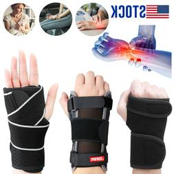 Carpal Tunnel Wrist Brace With Removable Splint Hands Suppor