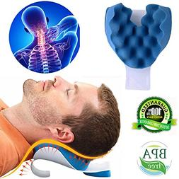 Cervical Pillow Neck and Shoulder Pain Relief Massage Tracti