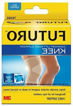 Futuro Comfort Lift Knee Support, Mild Support, X-Large, Bei