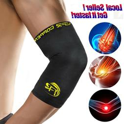 Compression Elbow Sleeve Copper Infused Elbow Support Braces