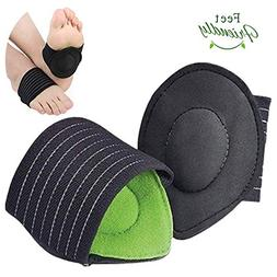 Compression Fasciitis Cushioned Support Sleeves for Men & Wo
