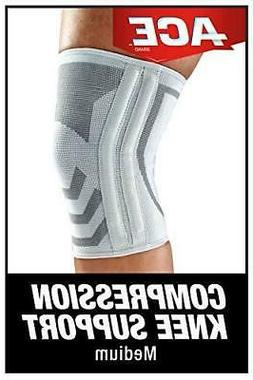 ACE Compression Knee Brace With Side Stabilizers Medium 1 Ea