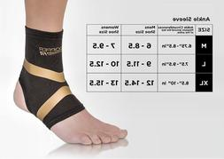 Copper Fit Pro Compression Ankle support Arthritis Relief Mo
