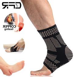 COPPER Plantar Fasciitis Arch Support Compression Ankle Heel