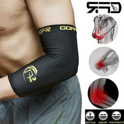 Copper Tennis Elbow Compression Support Brace Joint Pain Inf
